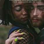 Electric Dirt, a magazine cover that features a Black person and a white person hugging closely with their faces pressed against each other