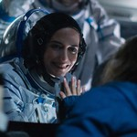 Eva Green, a white woman wearing a space suit, plays Sarah in Proxima