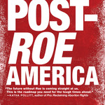 Cover of Handbook for a Post-Roe America by Robin Marty features the title in white against a red background