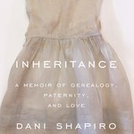 Cover of Inheritance by Dani Shapiro with a chid's white dress