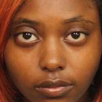 Photo of Marshae Jones taken after her arrest at Jefferson County jail