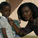 Melody Hurd as Grace Jean and Deborah Ayorinde as Lucky in Them