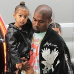 North West and Kanye West