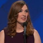 Sarah McBride at the 2016 Democratic National Convention