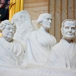 """""""Portrait Monument,"""" a 1920 statue memorial."""