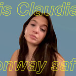 "Claudia Conway, a white teenage girl with brown hair. Text reads, ""Is Claudia Conway safe?"""