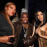 Queen Latifah, Missy Elliott and Cardi B.