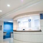 Empty hospital clinic
