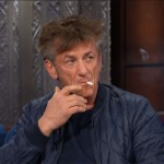 Sean Penn on The Late Show