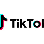 The TikTok logo against a white background
