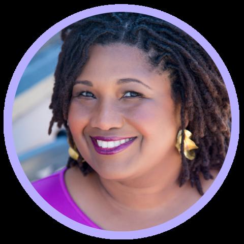 Close-up profile photo of Tamara Winfery Harris