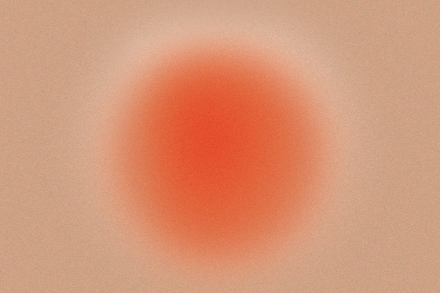 abstract image of a reddish gradient sphere on a light brown background