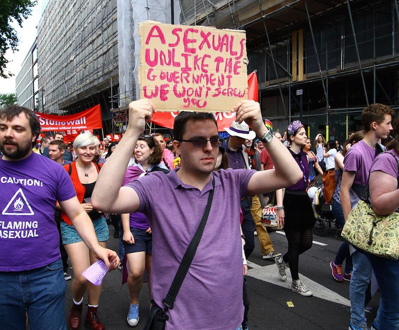 Asexual london