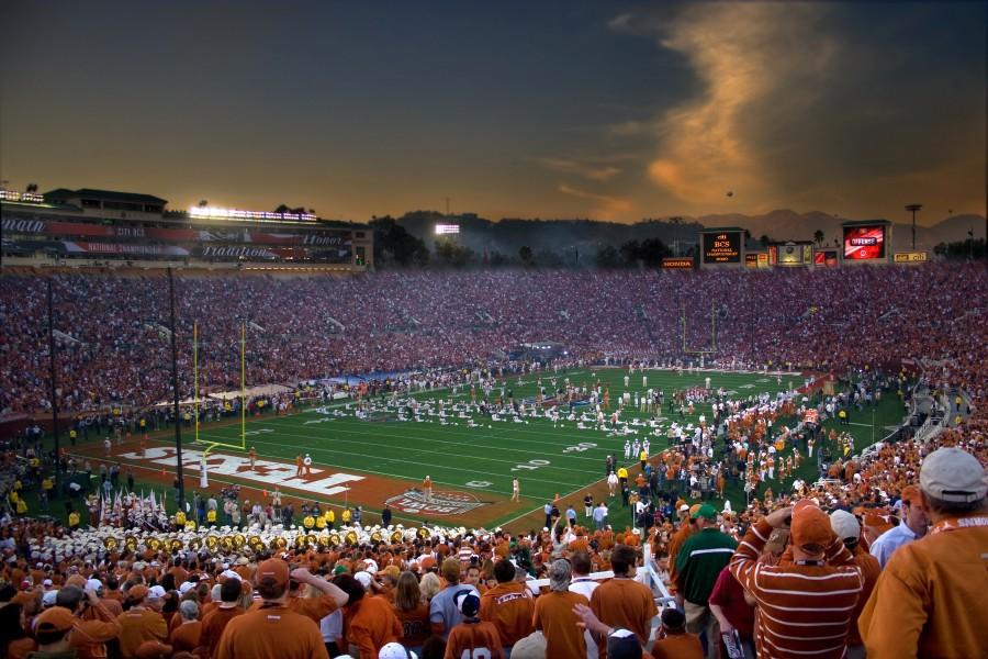 A football stadium full of fans
