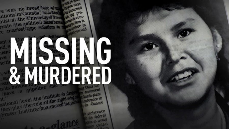 Alberta Williams in the Missing & Murdered logo
