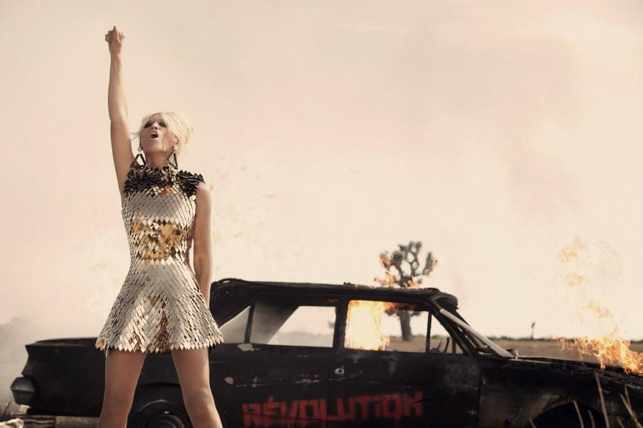 Beyoncé in Run the World (Girls) video