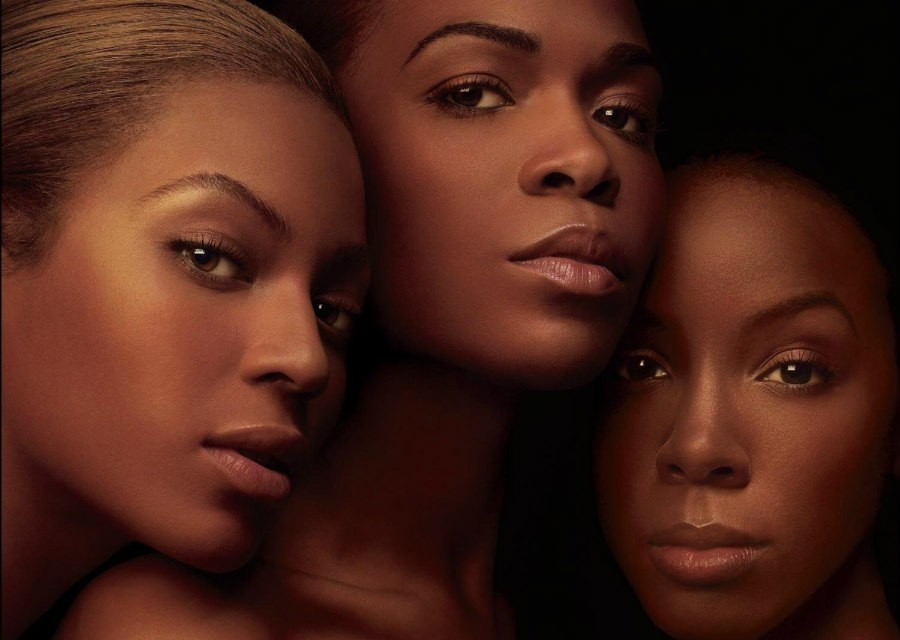 Destiny's Child on the Destiny Fulfilled album cover