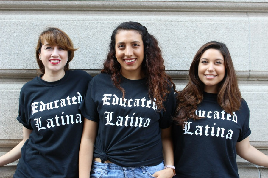 Educated Latina t-shirts