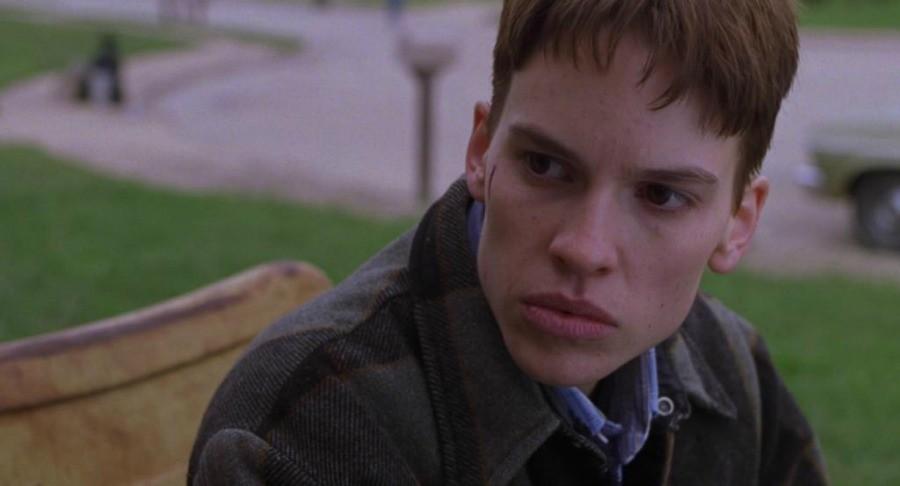 Hillary Swank as Brandon Teena in Boys Don't Cry