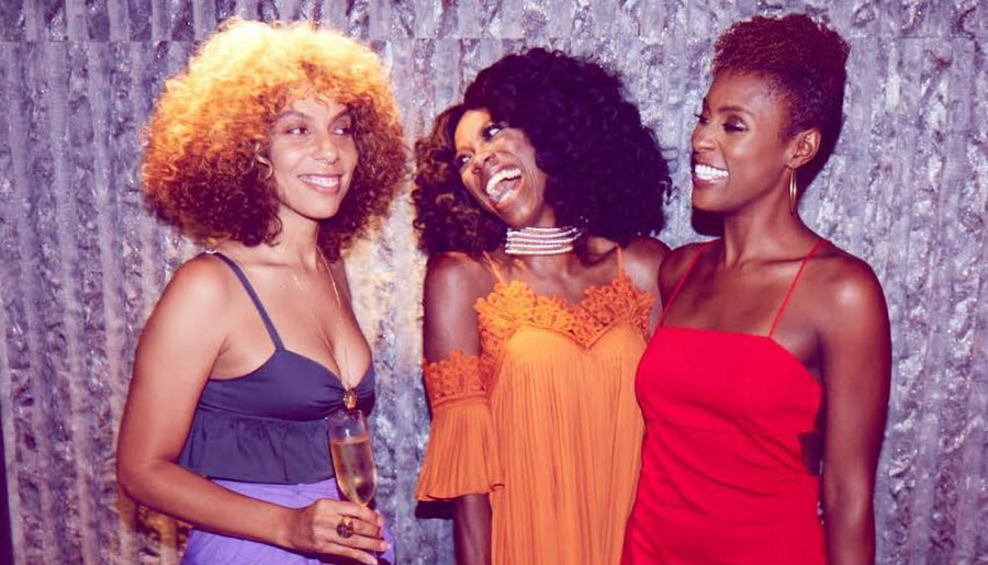 Issa, Melina, and Yvonne from Insecure