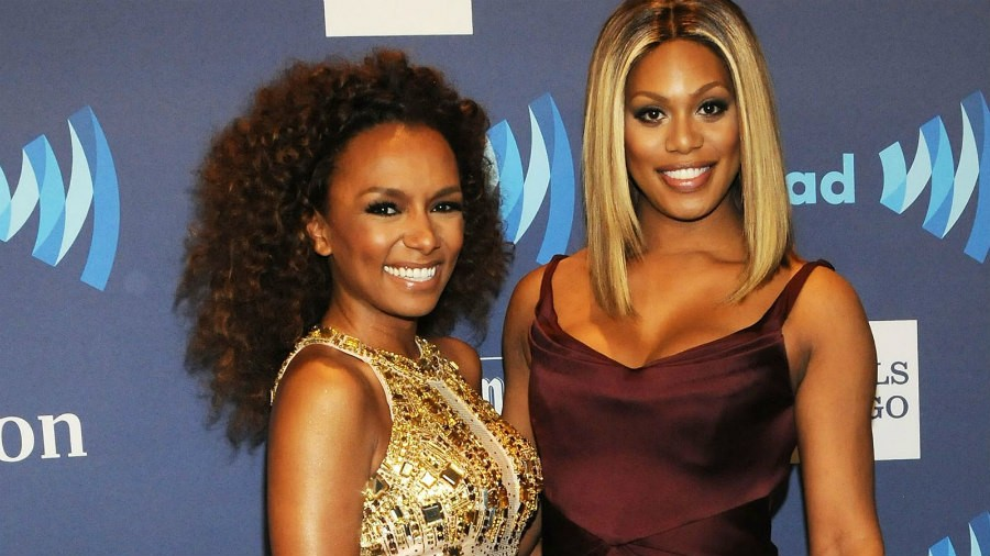 Janet Mock and Laverne Cox