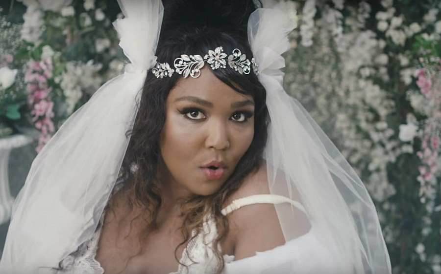 Lizzo in the video for Truth Hurts
