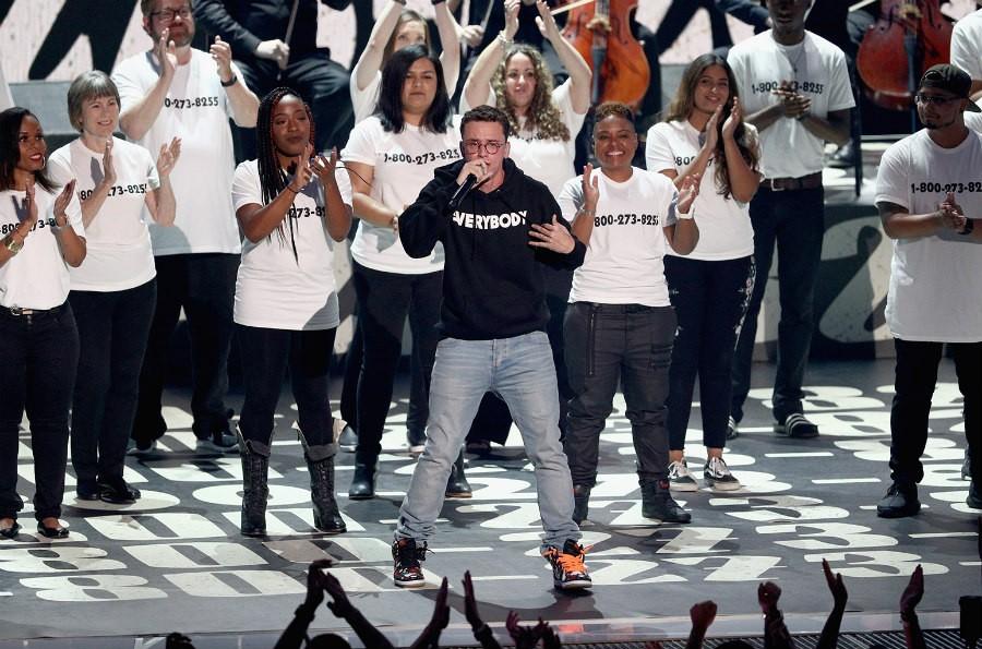 Logic MTV VMA performance