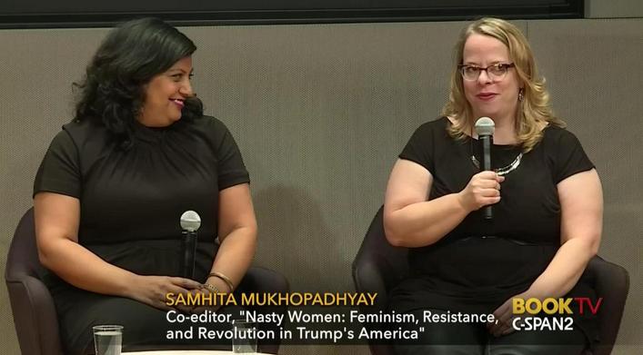 Samhita Mukhopadhyay and Kate Harding talk on CSPAN's Book TV
