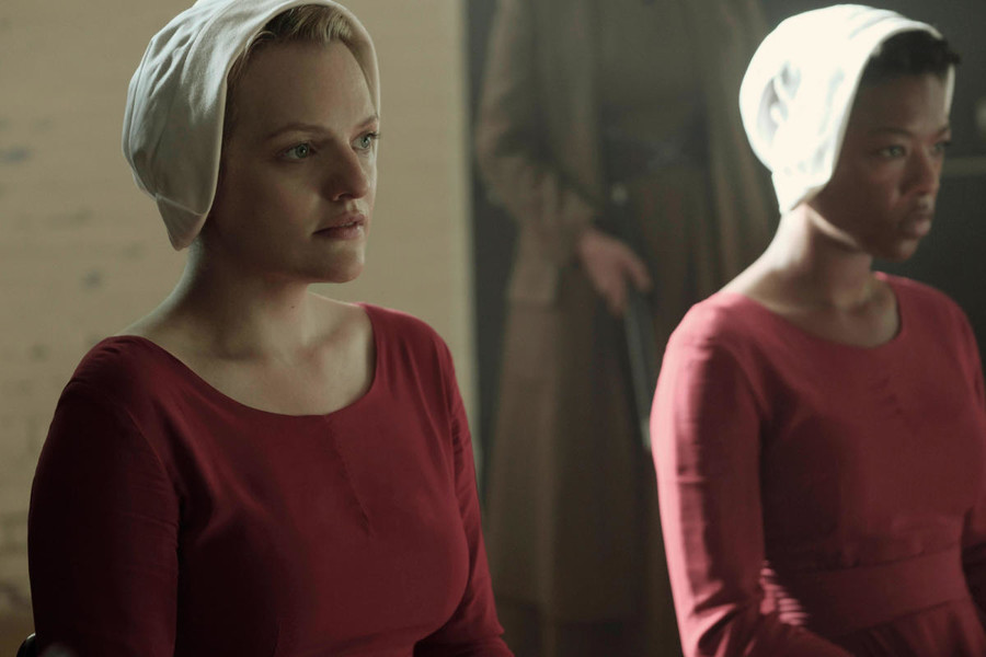 essay questions on 1984 and the handmaids tale