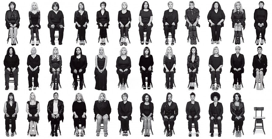 35 of Bill Cosby's accusers grace the cover of New York Magazine's August 2015 cover