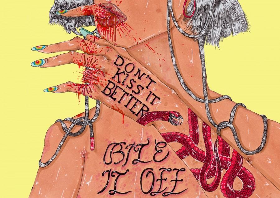 Endometriosis illustration by Panteha Abareshi