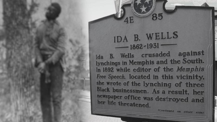 Ida B. Wells plaque in Tennessee