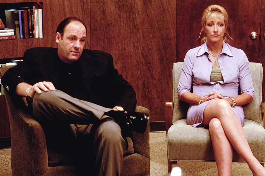 """How """"The Sopranos"""" Changed Therapy On TV 