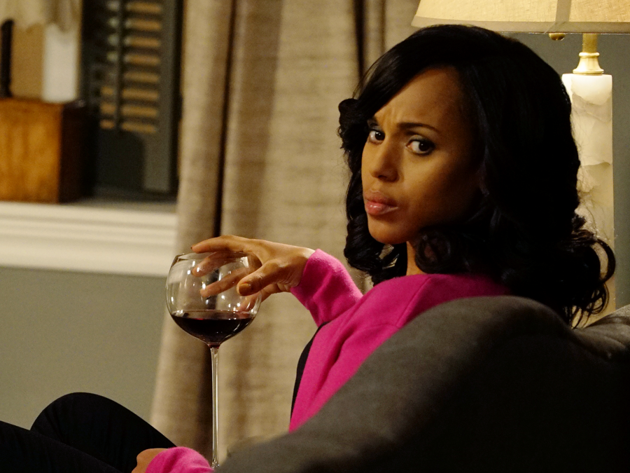 Kerry Washington as Olivia Pope on Scandal