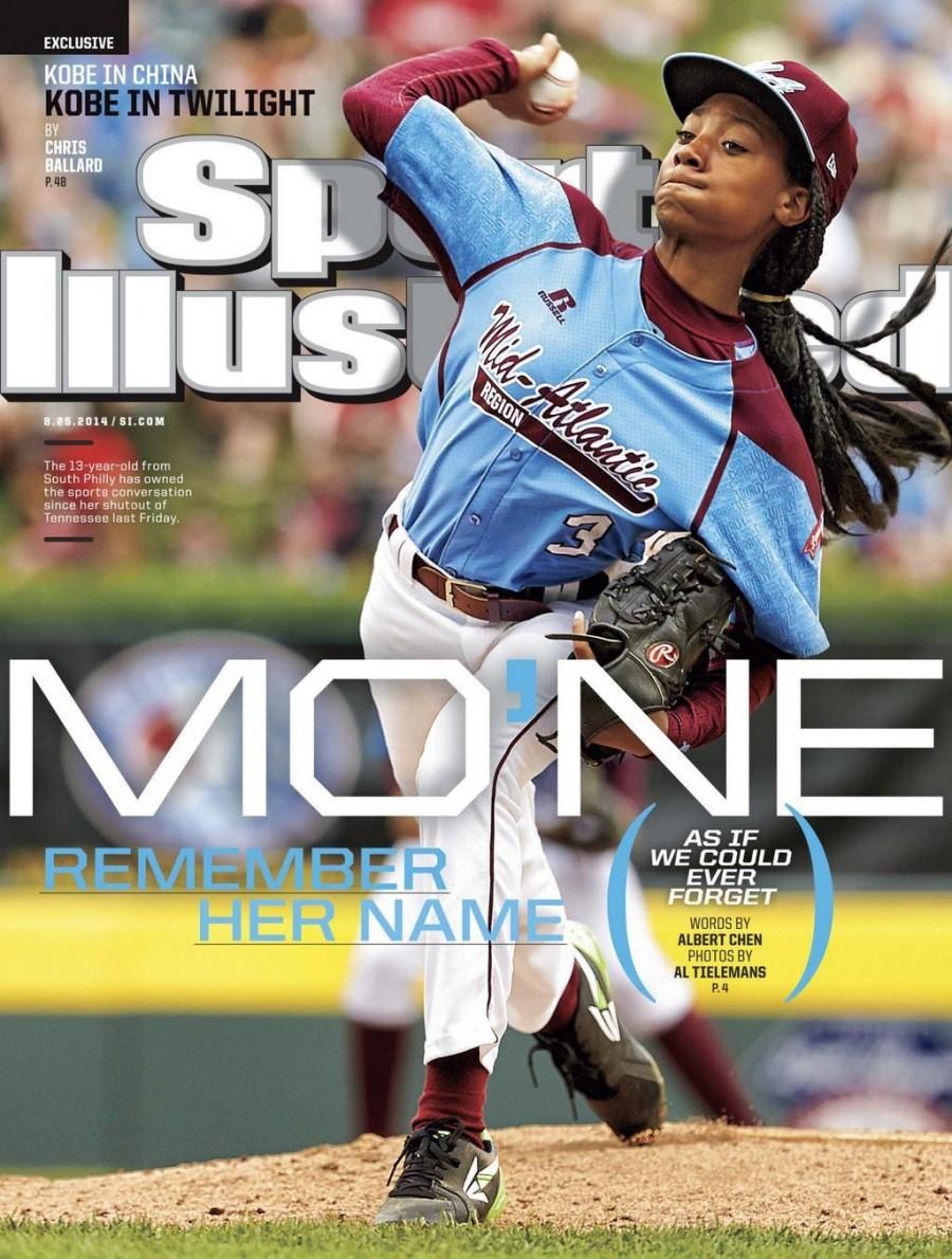 Mo'Ne Davis on the cover of Sports Illustrated