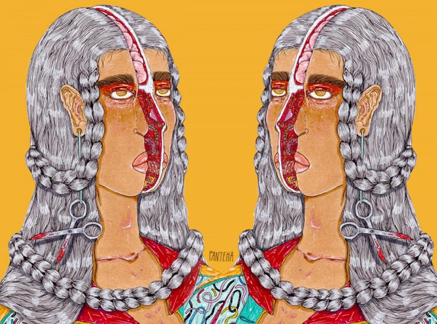 Panteha Abareshi illustration