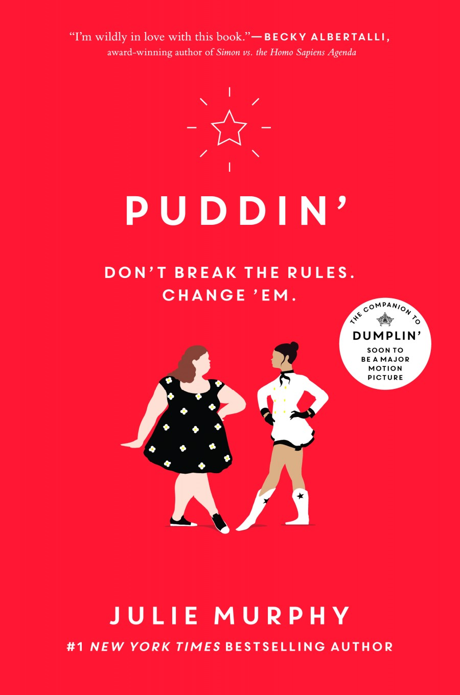 Puddin' by Julie Murphy book cover
