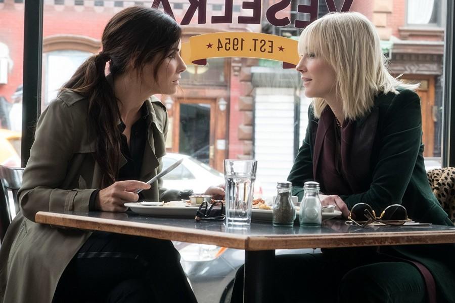 Sandra Bullock and Cate Blanchett in Ocean's 8