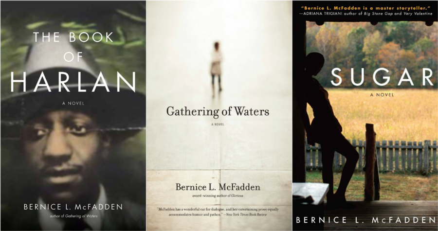 The Book of Harlan, Gathering of Waters, and Sugar by Bernice L. McFadden