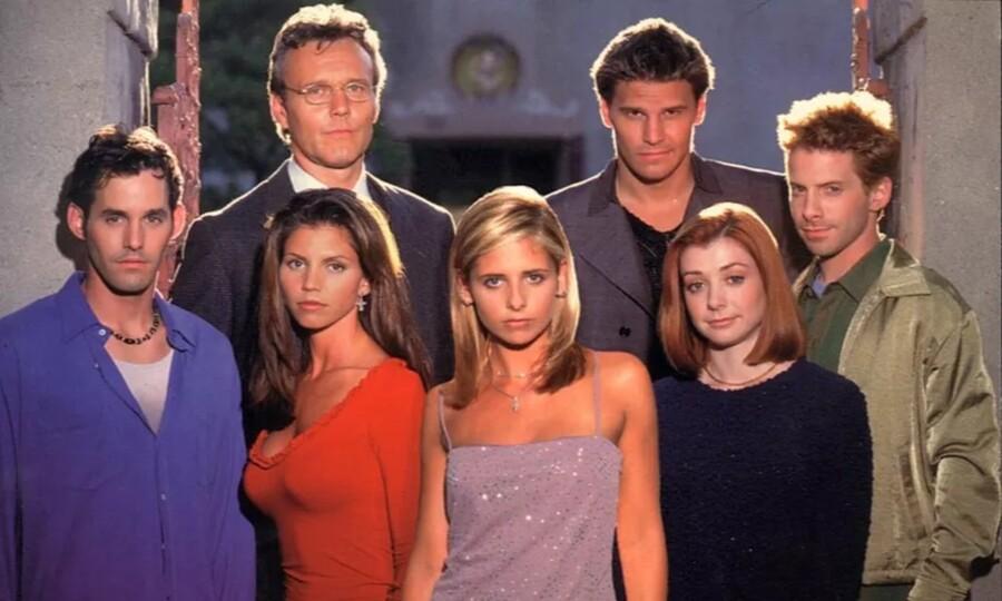 The cast ofBuffy the Vampire Slayer.