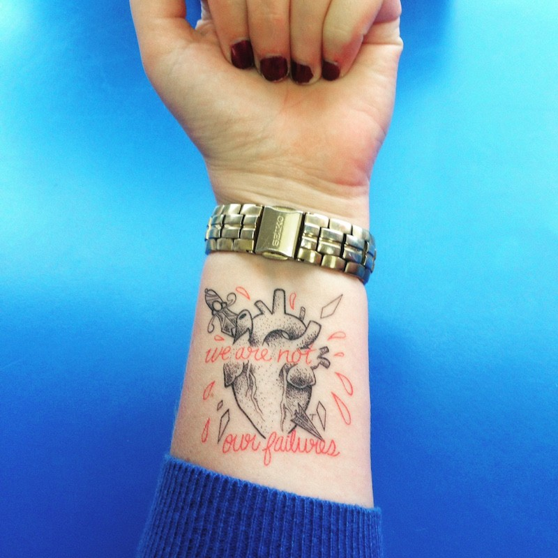 With Temporary Tattoos, Artists Make Their Invisible Disabilities ...
