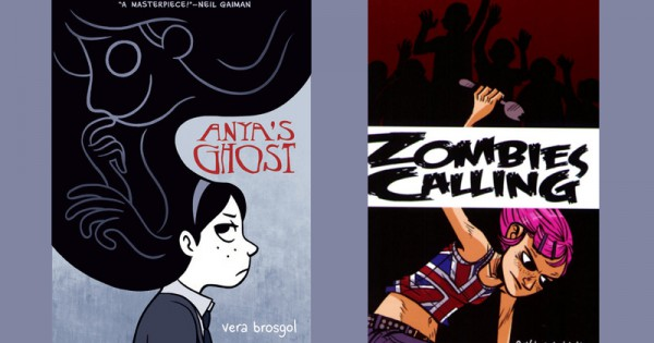 Anya to Zombies: An Alphabet of 26 Graphic Novels by Women