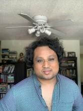 Author Aruni Kashyap.