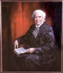 painting of Blackwell as an old woman
