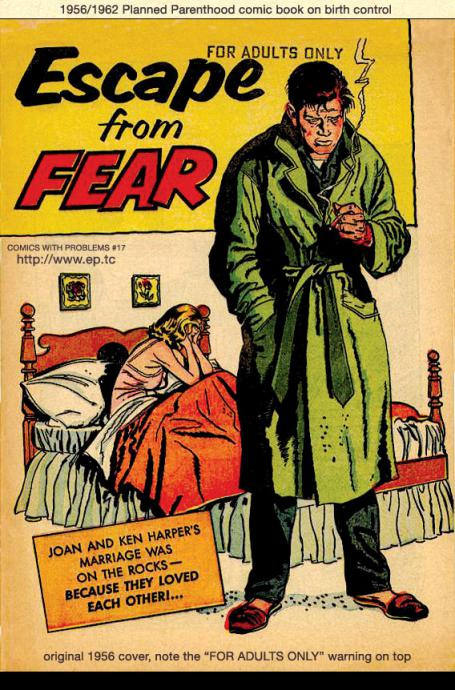 cover of escape from fear