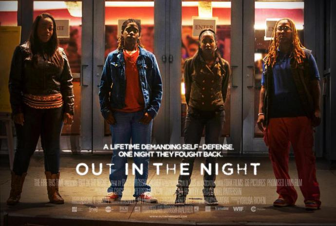 out in the night poster