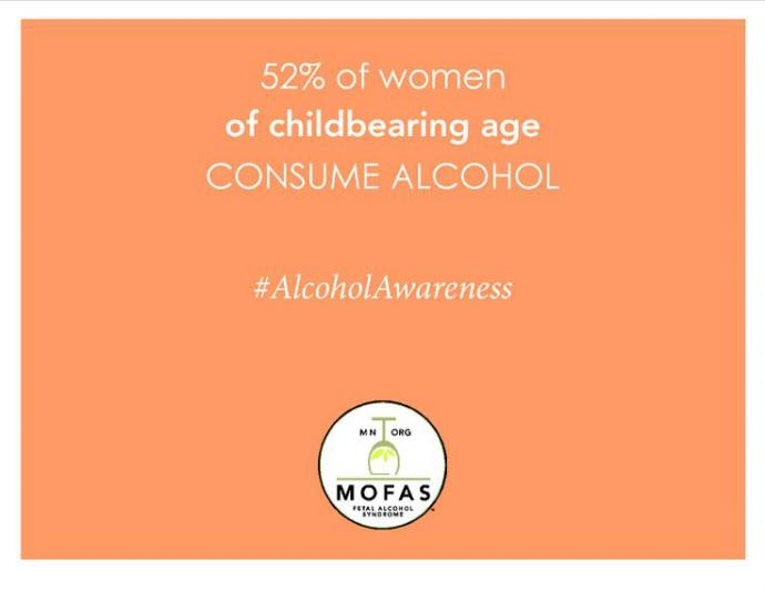 "a psa says that 52 percent of ""women of childbearing age"" consume alcohol"