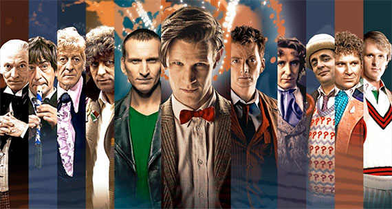 eleven stars of doctor who