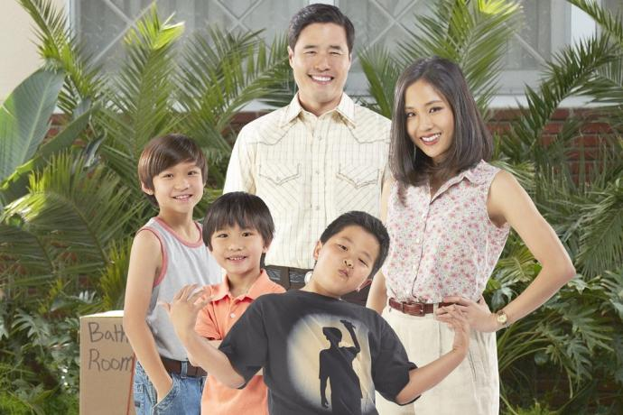 ohoto of the asian american family that stars in fresh off the boat