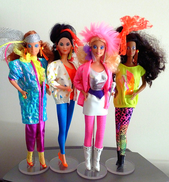 rocker barbies